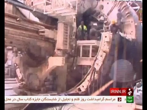 Iran made 7th metro line under construction, Tehran city هفت