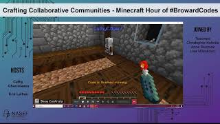 Family Night - Crafting Collaborative Communities - Minecraft Hour of #BrowardCodes