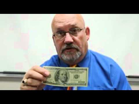 Video: How to ID fake US$100 bills