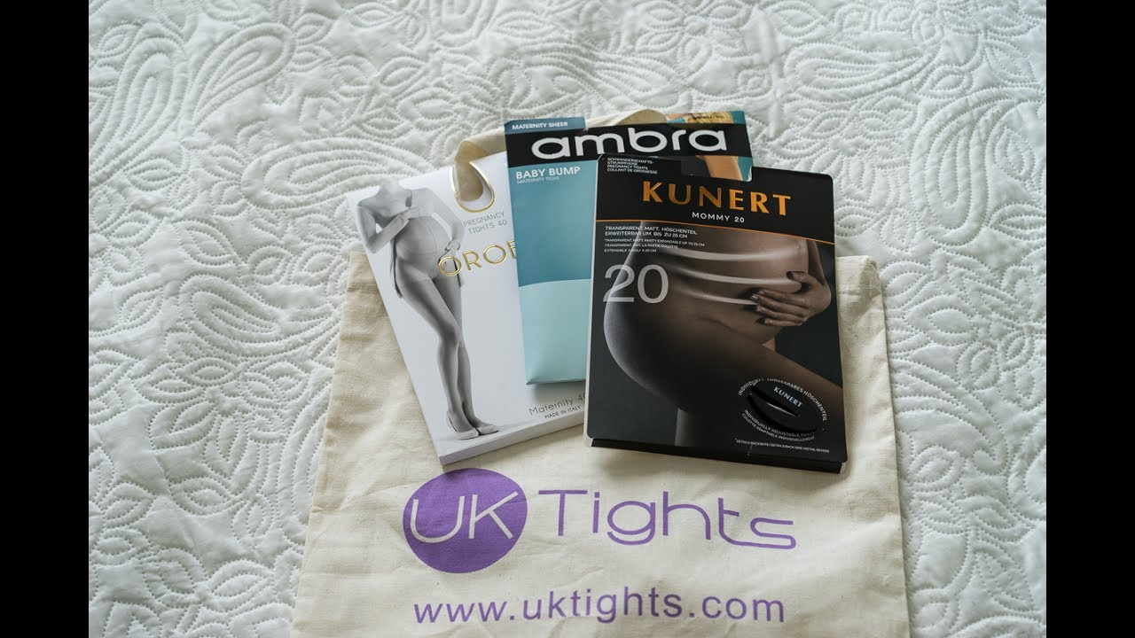 2414cf5904cb2 Maternity tights review from UKtights.com - YouTube