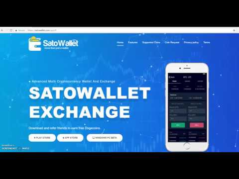How to Store, Trade and Swap Lisk (LSK) on SatoWallet