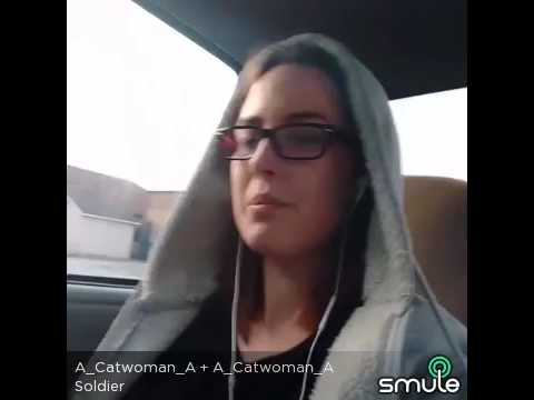 Soldier Eminem karaoke one person duet