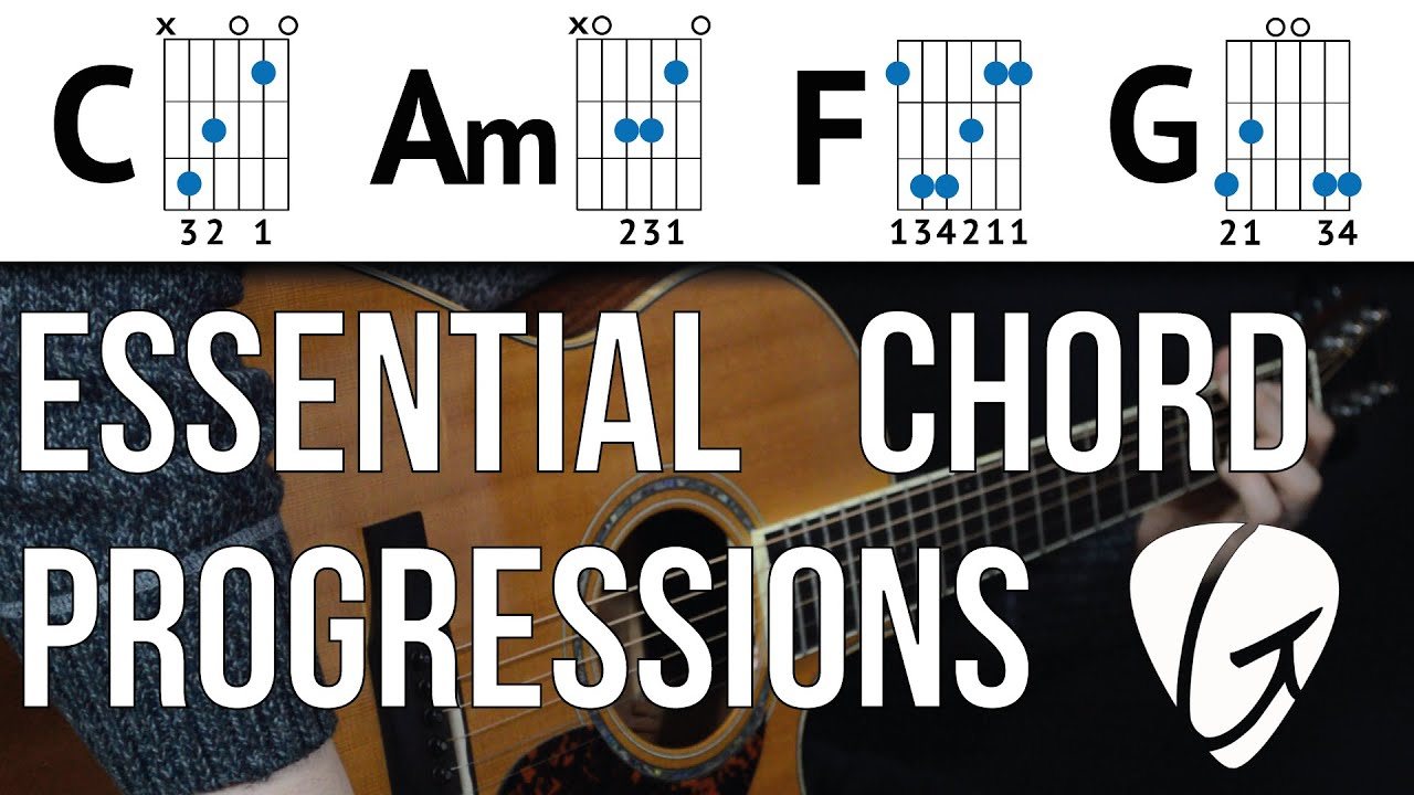 Chord Progression Practice C Am F G Useful Chord Progression