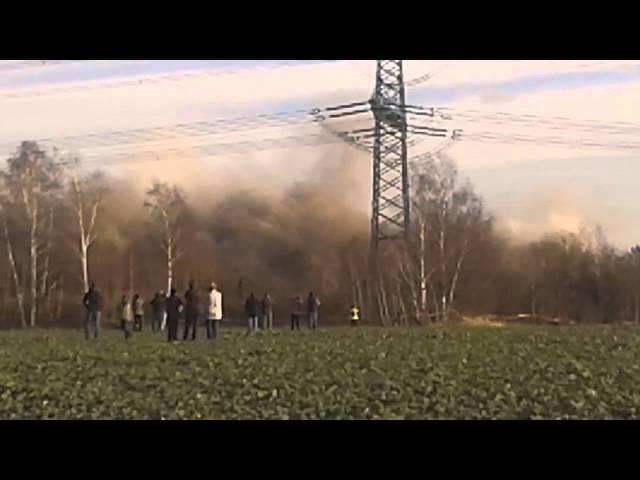 Sprengung Kraftwerk Hagenwerder 05.12.2015