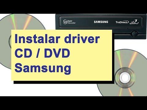 Samsung CD / DVD Driver E Atualizar Firmware Para Gravar DVD