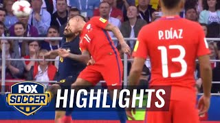 Martín Rodriguez ties the game for Chile | 2017 FIFA Confederations Cup Highlights
