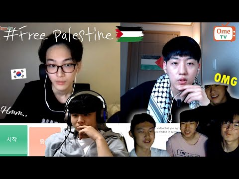 How do Koreans react to Palestine? | OME.TV