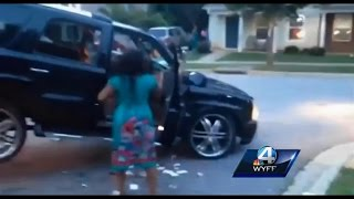 Black Woman Acts Crazy During Car Repossession @hodgetwins