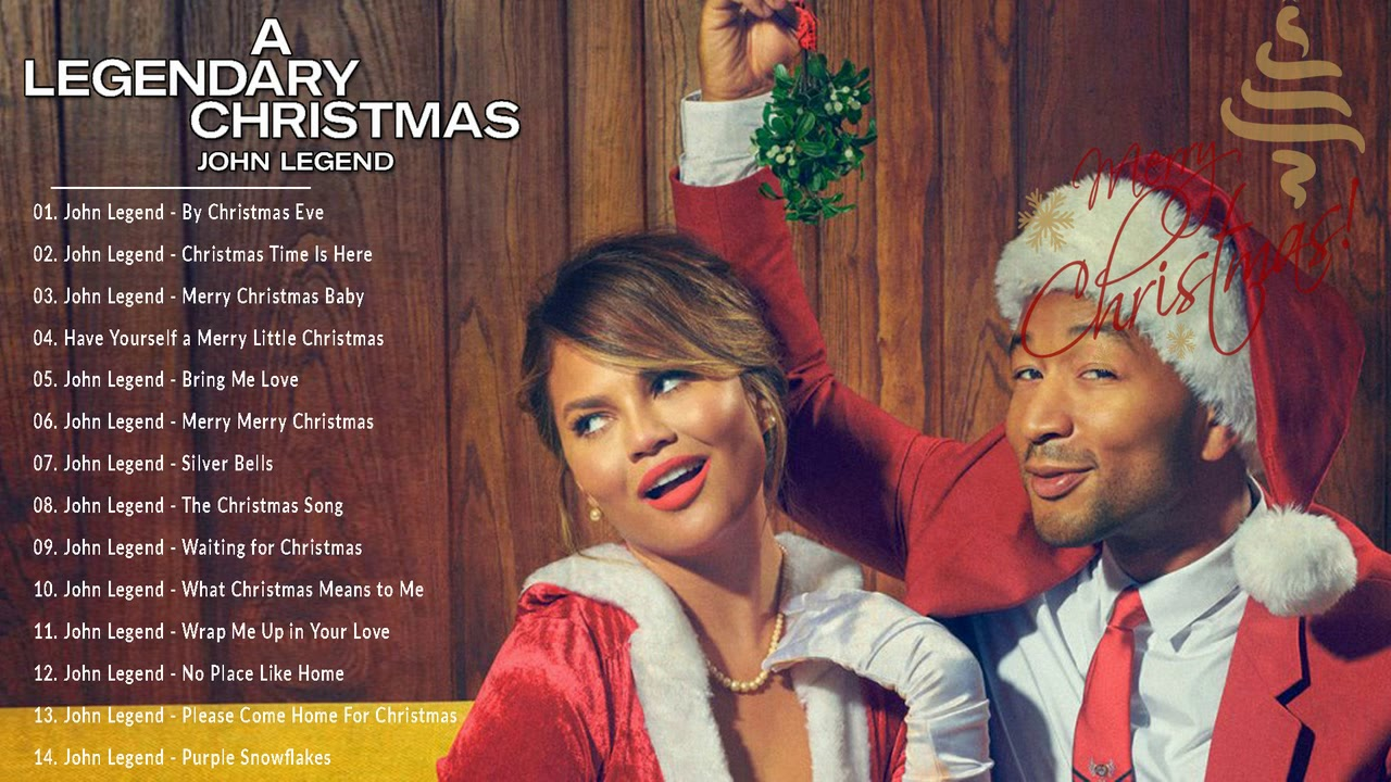 New Christmas Albums For 2019 John Legend Full Album Christmas 'A Legendary Christmas' New
