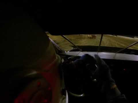 Speedycop Friday the 13th Feature Win Potomac Speedway HELMET CAM!!!
