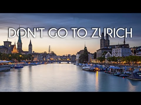 Don't go to Zurich, Switzerland Feat. Thomas Teissier - Travel film by Tolt #21