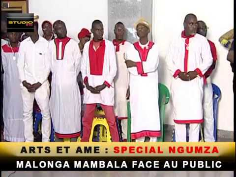 ARTS ET AME : MALONGA MAMBALA , le Prophète de Ngunza face au public.