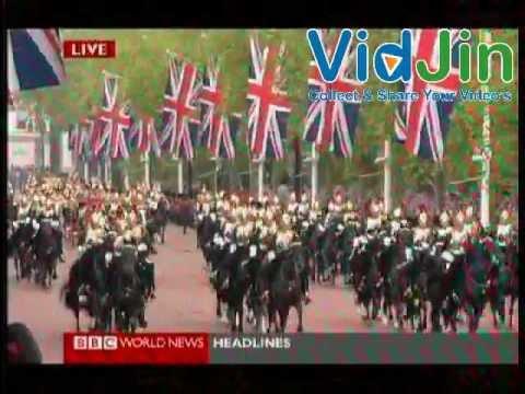 England Queen Elizabeth Diamond Jubilee - 5th June 2012