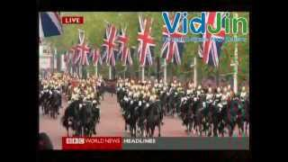 England Queen Elizabeth Diamond Jubilee - 5th June 2012