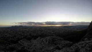 Sunrise Timelapse From Mt Corp De Garde