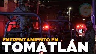Enfrentamiento en Tomatlán #Jalisco