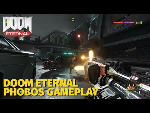 DOOM ETERNAL - Phobos Gameplay On PC (Ultra-Violence)