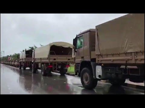 وفاة شخصين في سلطنة عمان جراء الإعصار ميكونو