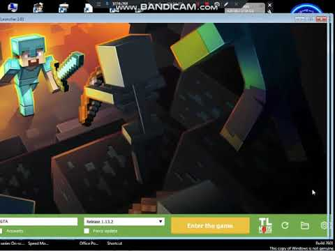 How to play Minecraft TLauncher on Windows 7 32 bit with no graphic card 100% work in 2021