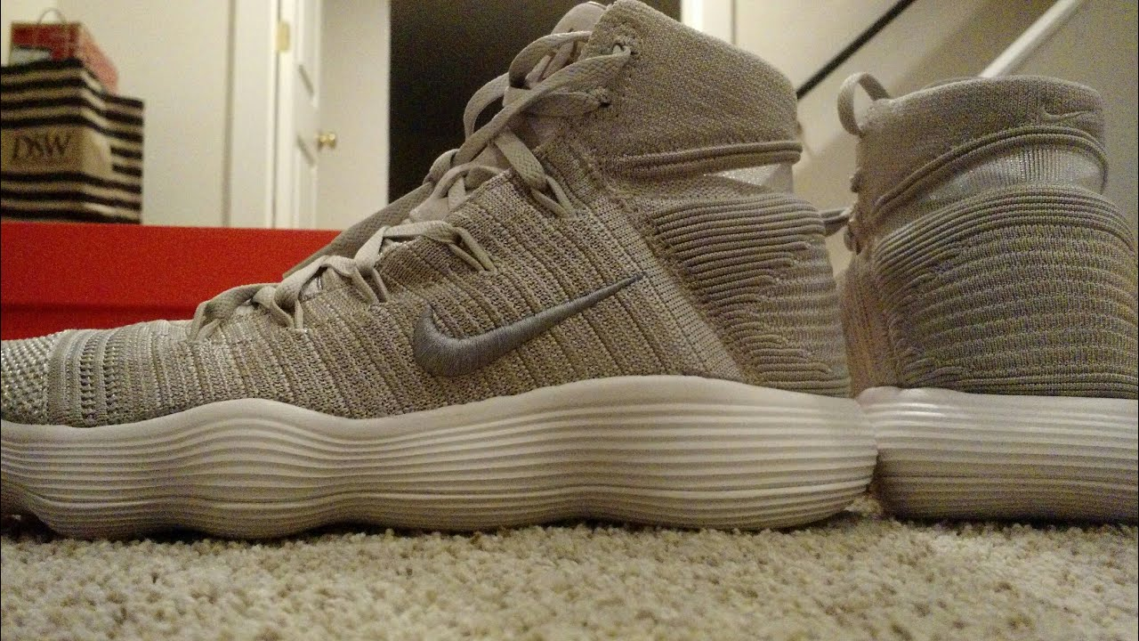 10d9a618a1df Nike Hyperdunk 2017 Flyknit unboxing and on feet! - YouTube