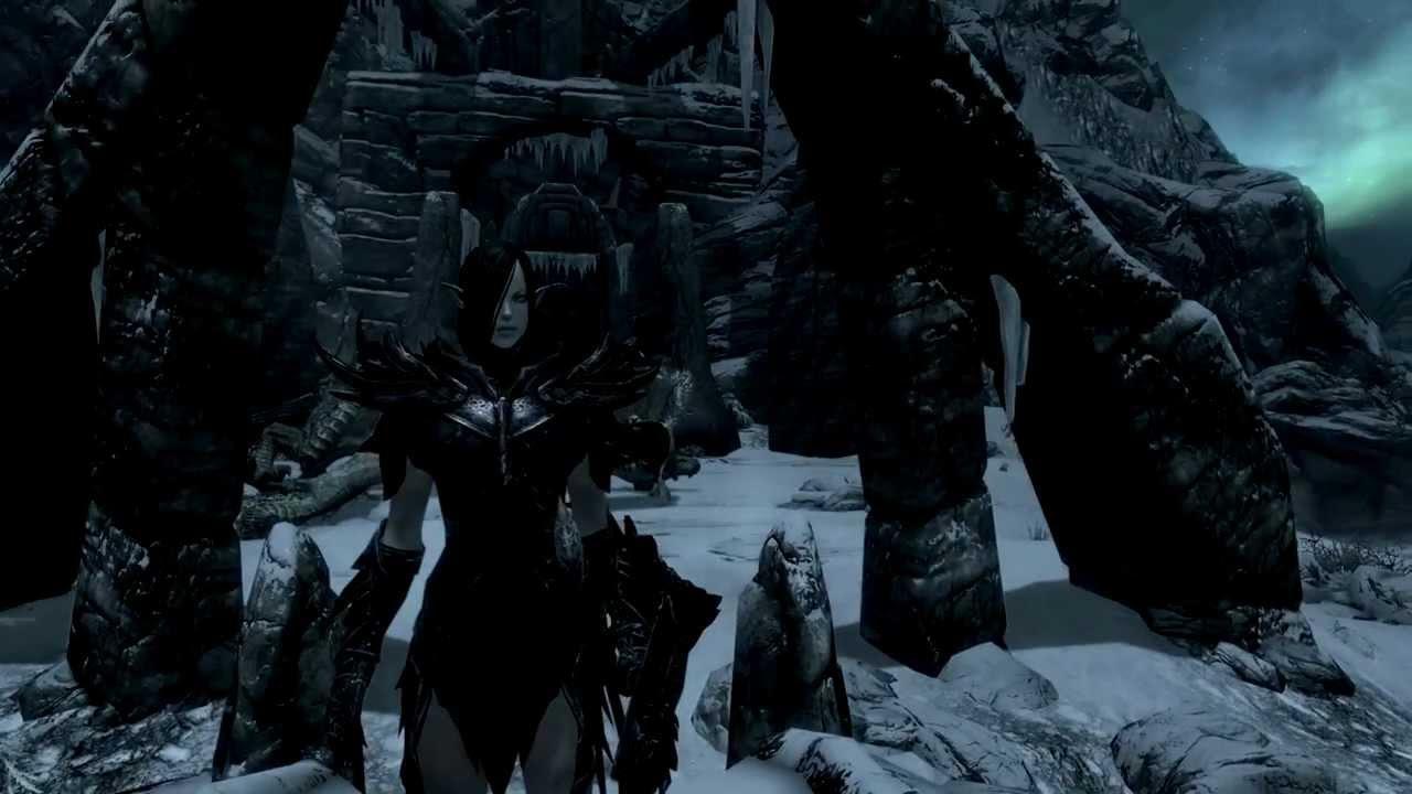 Sexy daedric armor