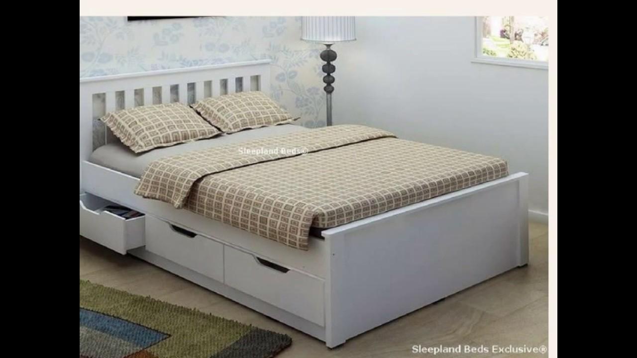Tempat Tidur Minimalis dengan Laci  YouTube