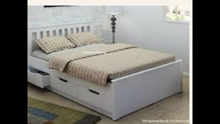 Tempat Tidur Minimalis dengan Laci