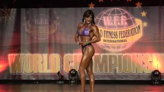 Engela van Tonder – Competitor No 51 – Women  Athletic - WFF World Championship 2016