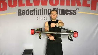 Bullworker Total Body Superset for strong chest, arms, back, shoulders, and legs.