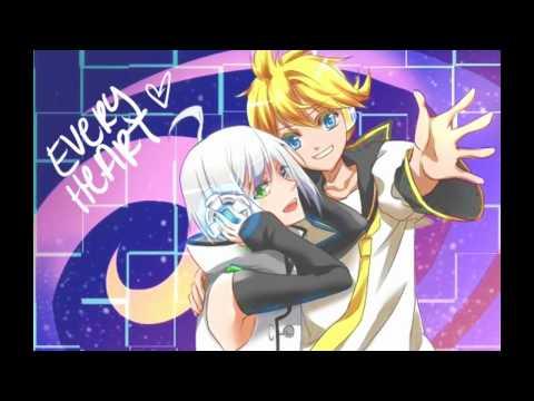 Utatane Piko + Kagamine Len 【VOCALOID】 Every Heart