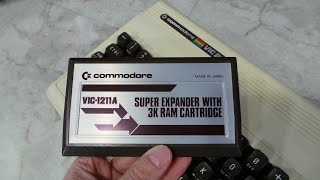 VIC-20 Super Expander and EPROM programmer