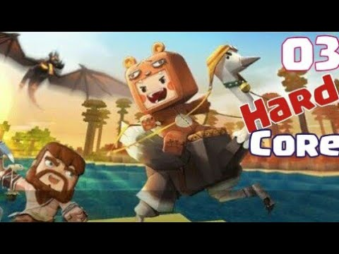 HardCore Sobrevivencia ep03 [ Mine World Block Art ]