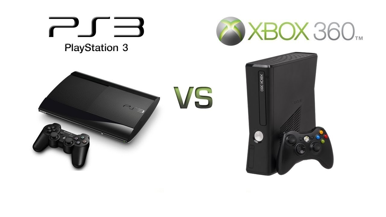 Console Wars:XBOX 360 VS PS3(Part 1) - YouTube Xbox 360 Vs Ps3 Vs Wii