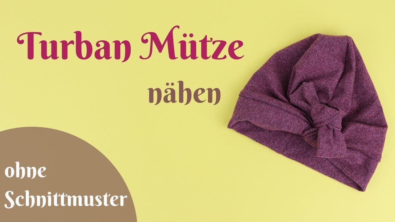 Exelent Turban Schnittmuster Motif - Decke Stricken Muster ...