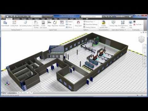 3D Visual Layout with Factory Design Suite