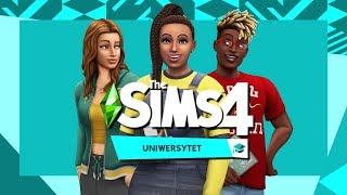 The Sims 4 UniwersytetLuźny lajwik z nowym dodatkiem w tle :)