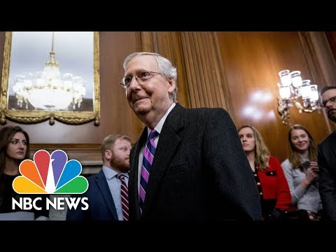 Senate Democrats And Republicans Reach Deal To End Government Shutdown | NBC News