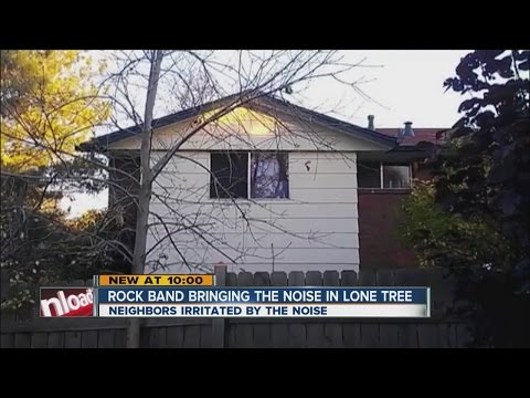 Lone Tree neighbors complain about rock band noise