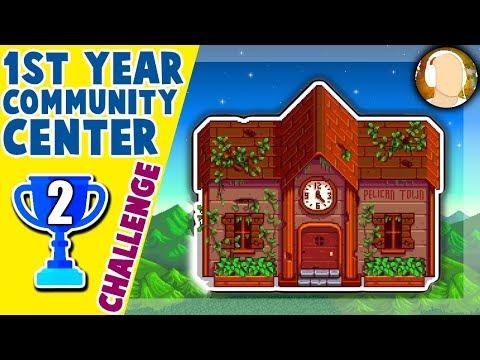 Stardew Valley - Community Center 1st Year Challenge! | Part 2
