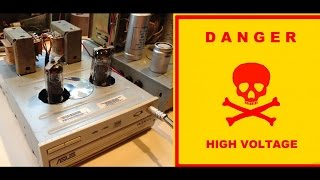 Как сделать усилитель звука своими руками / Бесплатный ламповый звук / Sekretmastera(Как сделать ламповый стерео усилитель звука своими руками. Очередная электронная поделка из бесплатного..., 2015-08-16T18:01:39.000Z)
