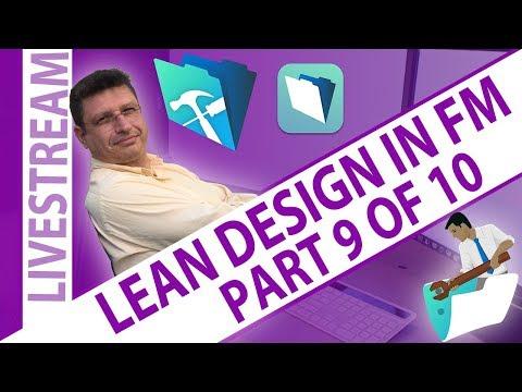 Lean Design in FileMaker - Part Nine