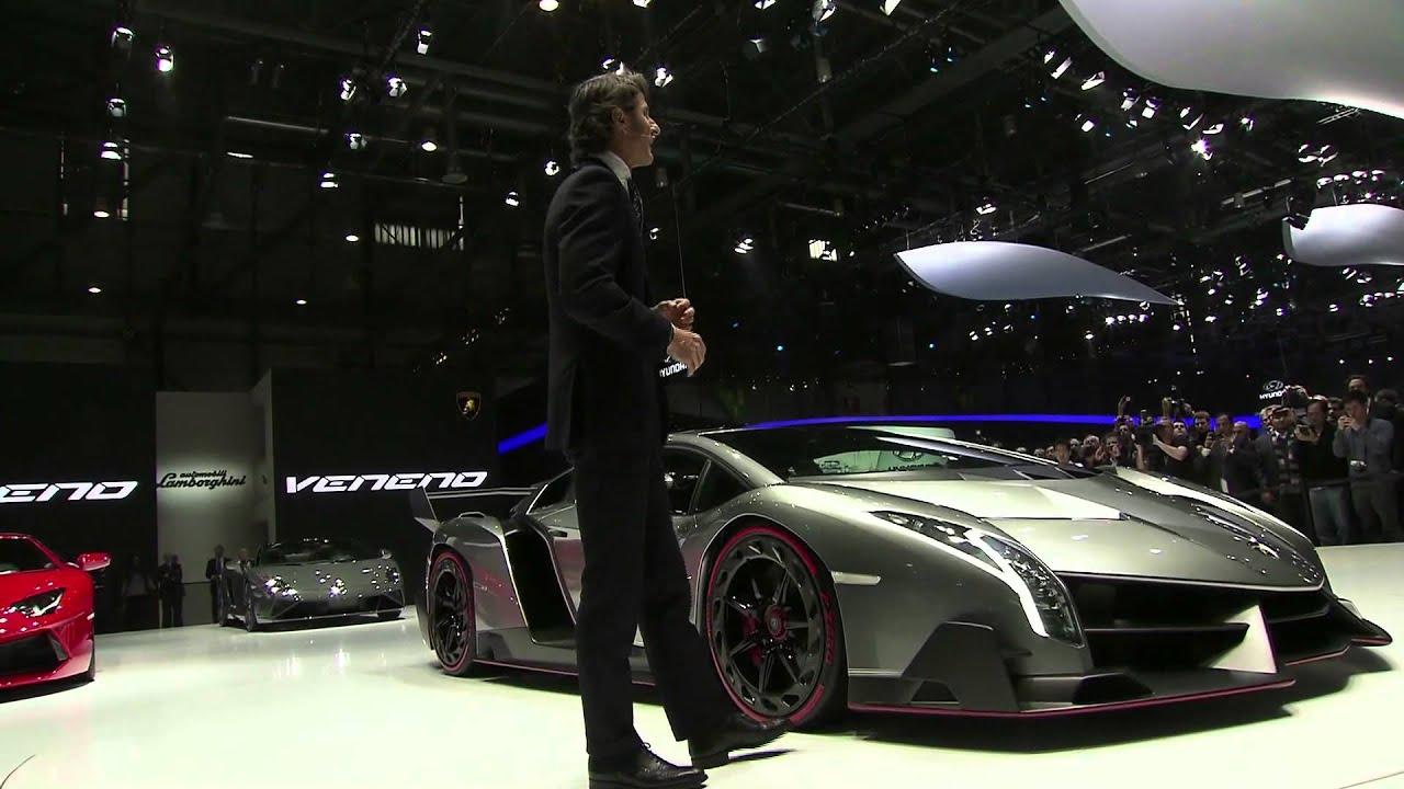 Materials Behind The Lamborghini Veneno Engine Diagrams