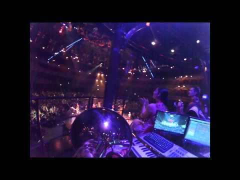 Clowns into High Wire - trombone bell cam - Cirque du Soleil Kooza