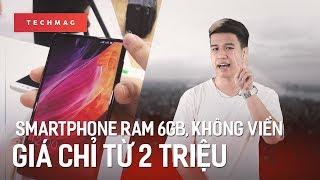 TechMenu: Smartphone RAM 6GB, không viền giá chỉ từ 2 triệu