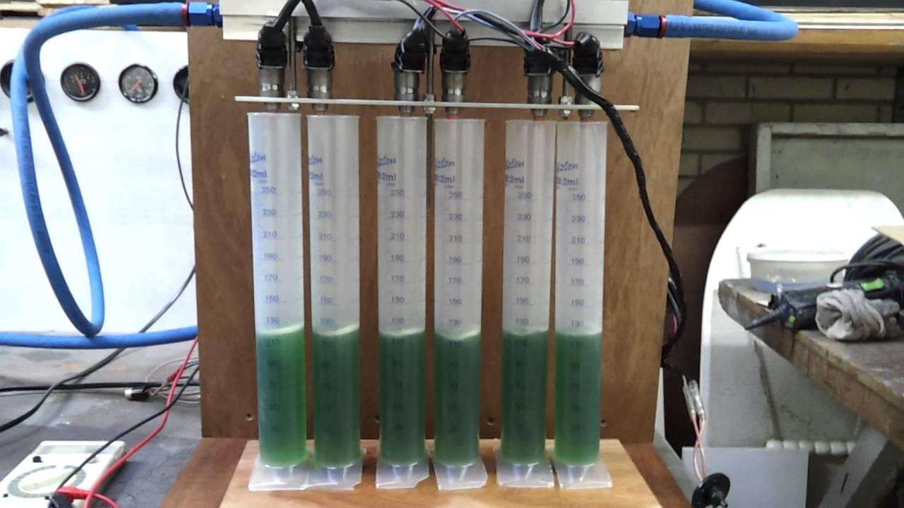 DIY Injector flow testing with megasquirt ecu