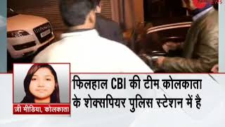 In Chitfund case CBI reaches Kolkata police commissioners house
