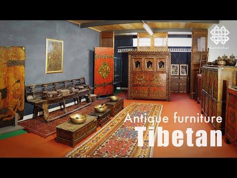 "Antique Tibetan furniture from the ""Kandahar"" collection - kandahar.it"