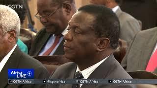 Zimbabwe's President Mnangagwa dissolves cabinet to set up new government