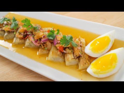 Grilled Eggplant Salad Recipe ยำมะเขือยาว – Hot Thai Kitchen!