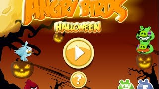 Angry Birds Halloween Walkthrough
